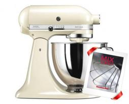 Кулинарный центр KitchenAid 5KSM125EAC, кремовый