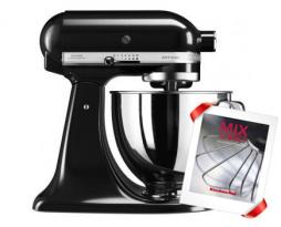 Кулинарный центр KitchenAid 5KSM125EOB, черный